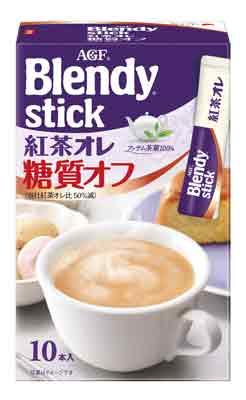 ブレンディ® スティック<br /> 紅茶オレ 糖質オフ (10本入)